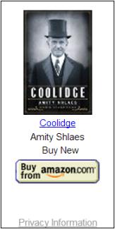 Coolidge: Amity Shlaes