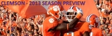 Football Season Preview – 2013 Clemson Tigers